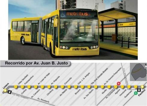 Nuevo autobús. Metrobus-490x353
